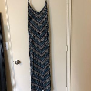 Gap Printed Maxi Dress